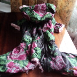 Одежда и обувь - Комбинезон для девочки разм. М, 0
