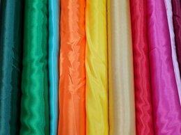 Рукоделие, поделки и товары для них - Ткань креп-сатин разные цвета, 0