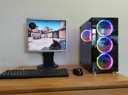 Настольные компьютеры - Игровой компьютер Intel i7 16Gb SSD240Gb RX550 4Gb, 0