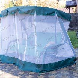 Садовые качели - Тент + москитная сетка для садовых качелей (с дугообразной крышей), 0