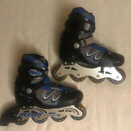 Роликовые коньки - Ролики Action In-line Skate размер 40-43, 0