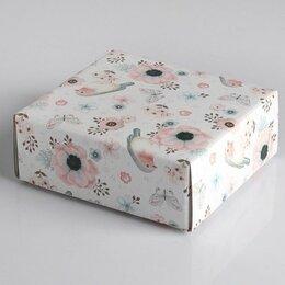 Корзины, коробки и контейнеры - Коробка с крышкой Ипомея, 0