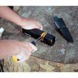 Мусаты, точилки, точильные камни - Ручная точилка для заточки топоров ножей ножниц Fiskars Xsharp 120740, 0