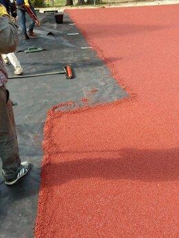 Садовые дорожки и покрытия - Укладка монтаж резиновых покрытый из резиновой…, 0