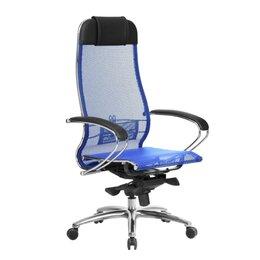 Компьютерные кресла - Компьютерное кресло Samurai S-1.04 (синий), 0