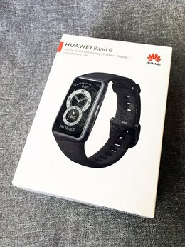 Умные часы и браслеты - Часы Huawei Band 6 (черные), 0