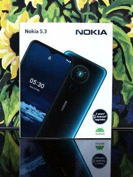 Мобильные телефоны - Новый Nokia 5.3 3/64 с NFC. Чек, гарантия, 0