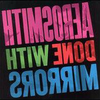 Музыкальные CD и аудиокассеты - LP.Aerosmith – Done With Mirrors - 1985 , 0