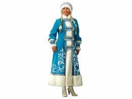 Карнавальные и театральные костюмы - Карнавальный костюм Снегурочка с аппликацией,…, 0