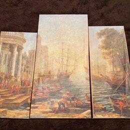 Картины, постеры, гобелены, панно - Модульная картина «Последний день помпеи», 0