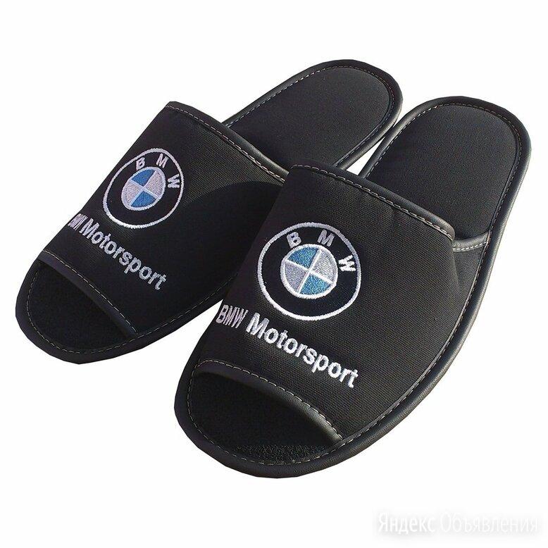Тапочки БМВ по цене 970₽ - Домашняя обувь, фото 0