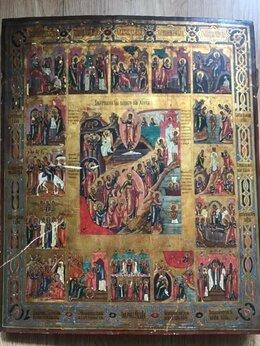 Иконы - Икона Воскресение Христово с двунадесятыми…, 0