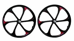 """Обода и велосипедные колёса в сборе - Комплект колес MTB 26"""" Д/о, под трещотку, 6…, 0"""