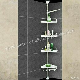 Строительство - Угловая полка для ванной, 0