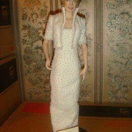 Куклы и пупсы - Кукла Принцесса Диана фарфоровая в платье Elvis 1998 год, 0