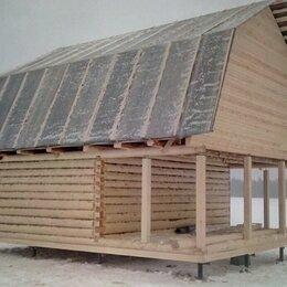 Готовые строения - Сруб 6х6+3х6, 0
