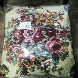 Декоративные подушки - Новая гобеленовая подушка 50х50, 0