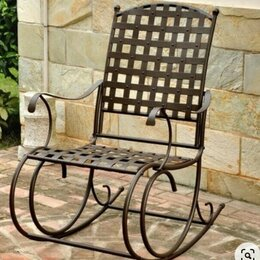 Кресла и стулья - Кованые кресла-качалки, 0