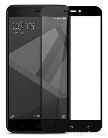 Защитное стекло Xiaomi Redmi 4X black по цене 250₽ - Защитные пленки и стекла, фото 0
