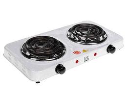 Плиты и варочные панели - Плитка электрическая спираль Irit IR-8120 белый, 0