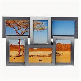 Цифровые фоторамки и фотоальбомы - Фоторамка Image Art 6020/6-4S, 6 в 1, 10*15…, 0