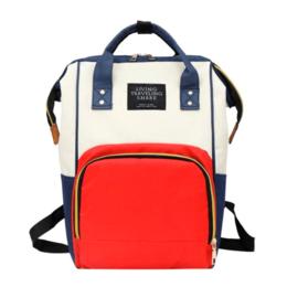 Рюкзаки и сумки-кенгуру - Рюкзак для мамы Living Traveling Share (красный с синим), 0