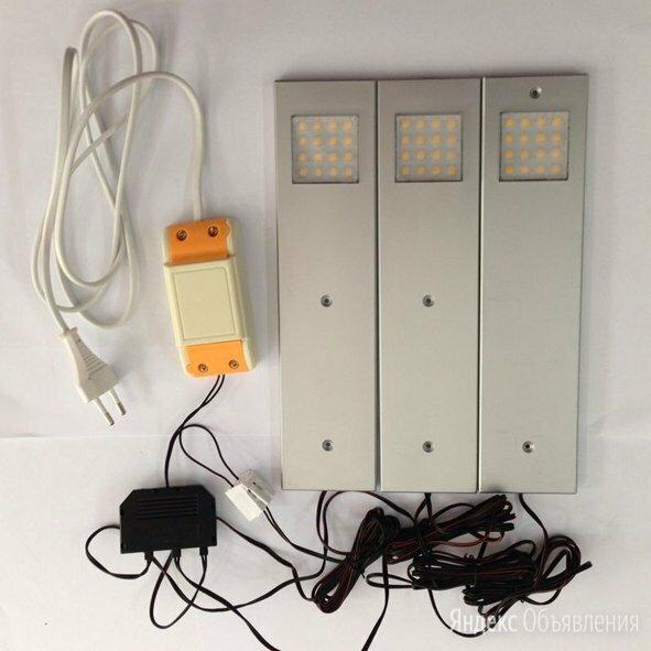 Свелитильник светодиодный накладной с сенсором. по цене 1850₽ - Ночники и декоративные светильники, фото 0