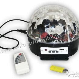 Новогодний декор и аксессуары - Диско-шар 32 светодиодов, 0