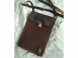 Военные вещи - Офицерский кожаный планшет, СССР 1981г, 0