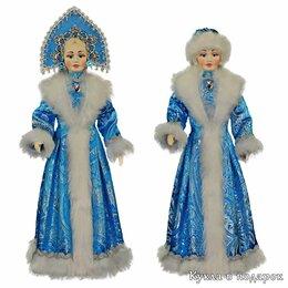 Новогодние фигурки и сувениры - Новогодняя игрушка Снегурочка кукла под елку подарок ручной работы , 0