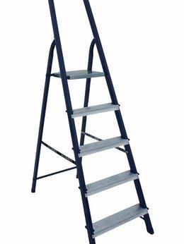 Лестницы и стремянки - Стремянки АЛЮМЕТ Стремянка стальная 5 ступеней…, 0