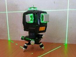 Измерительные инструменты и приборы - лазерный уровень Deko 3x360 новый, 0