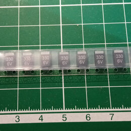 Радиодетали и электронные компоненты - Танталовые SMD-конденсаторы 330мкф 6В тип D, 0