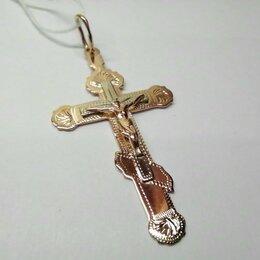 Кулоны и подвески - Крест золото 585 пр., 0