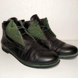 Ботинки - Ботинки.  Кожа. Демисезон.  43 , 0