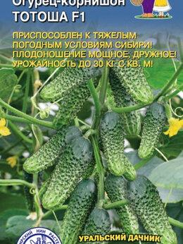Семена - Тотоша F1 Огурец УД 10шт Уральский дачник, 0