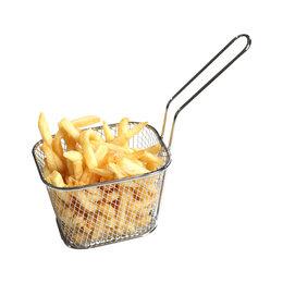 Грили, мангалы, коптильни - Корзина для фритюра, для картофеля фри, креветок, 0