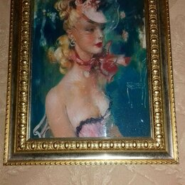 """Картины, постеры, гобелены, панно - Фото картина """"Парижанка"""", 0"""