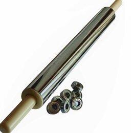 Скалки - Скалка для нержавеющей стали 45-6см с подшипниками, 0