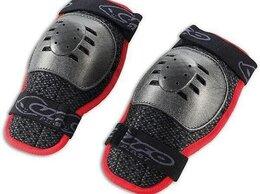 Спортивная защита - Защита колена NIDECKER  Boy Knee Guard - Black/Red, 0