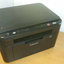 Принтеры и МФУ - Лазерное МФУ Samsung SCX-3205. Новый картридж., 0