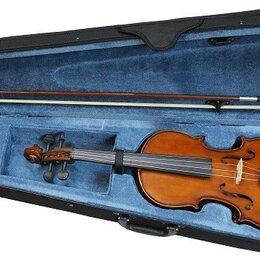 Смычковые инструменты - FLIGHT FV-34 Скрипка 3/4 в комплекте смычок, канифоль, текстильный кейс., 0