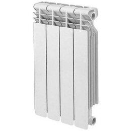 Радиаторы - Радиатор биметал Base 500 rifar 4-Секции, 0