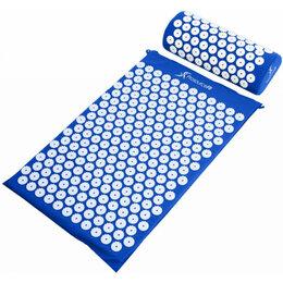 Массажные матрасы и подушки - Акупунктурный массажный комплект из коврика и валика Acupressure Mat 999749, 0