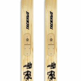 Беговые лыжи - Охотничьи лыжи Маяк Таежные 190х20 см, дерево, 0