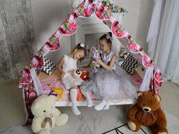 Кроватки - Детская кровать домик, 0