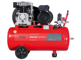 Воздушные компрессоры - Компрессор FUBAG B3600B/100 СМ3 (360л/мин, 100л, , 0