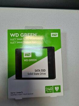 Внешние жесткие диски и SSD - WD Green ssd 240gb, 0