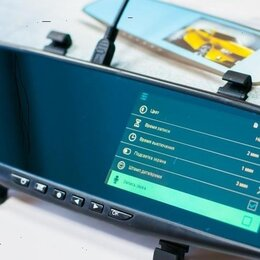 Видеокамеры - Новый Видеорегистратор Зеркало Full HD 1080P, 0