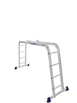 Лестницы и стремянки - Лестница-трансформер Алюмет TL4034(2*3+2*4), 0